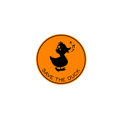 logo save the duck